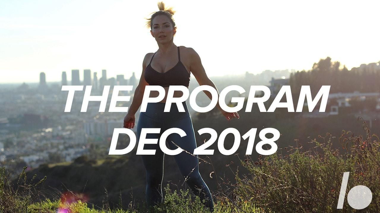 December Program 2018