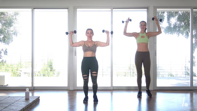 Quick Burn: 6-min Low-Impact, Upper Body