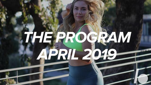 April Program 2019