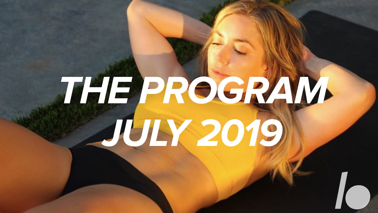 July 2019 The Program