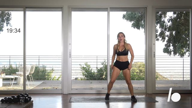 Quick Burn: 20-min Petite (Standing Abs)