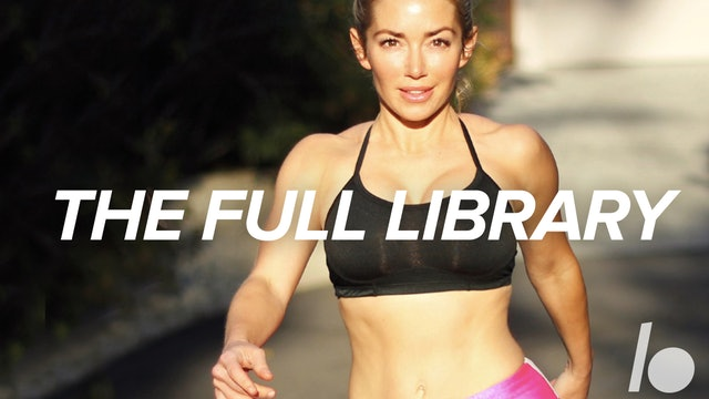 50-Min Workout Library (300+ Videos)