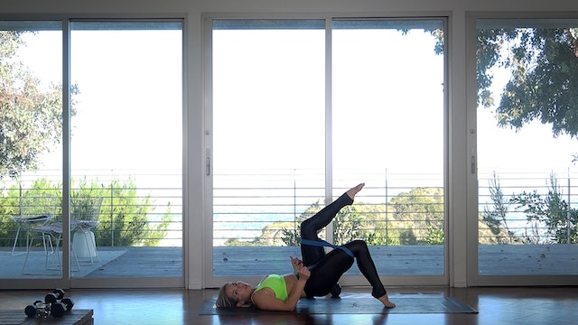 Quick Burn: 25-min Poison (Grounded Weighted & Looped Glutes & Core)