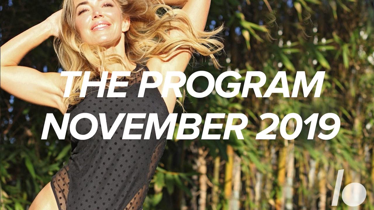 Nov 2019 The Program