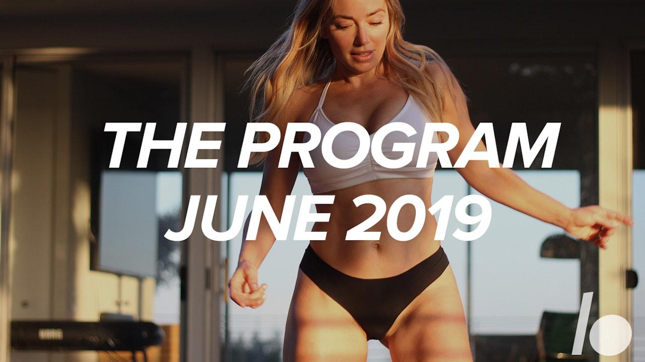 June 2019 The Program