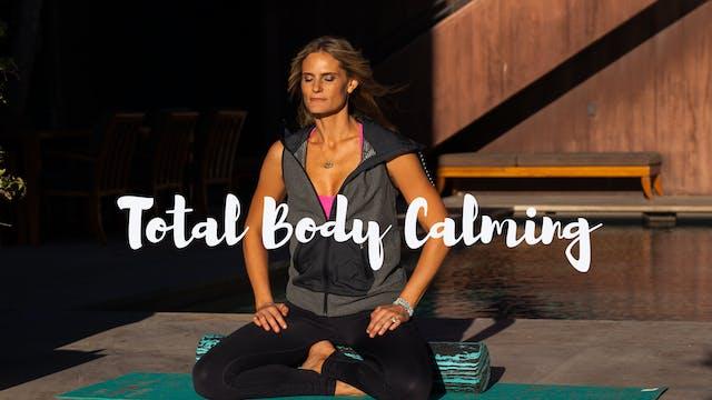 Total Body Calming Restorative Foam Roller Workout