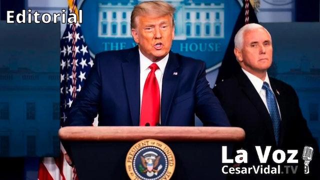 Donald Trump no tira la toalla - 25/11/20