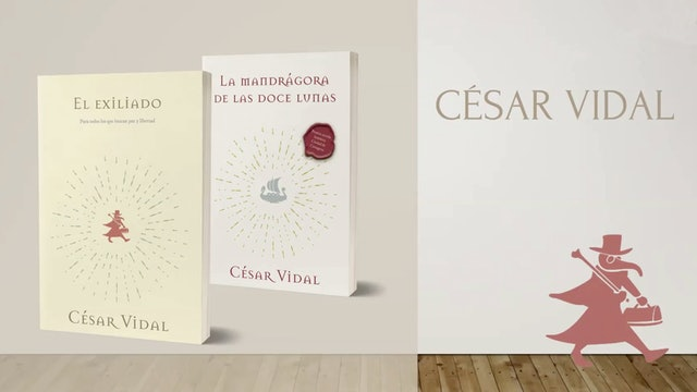 Lluvia Agustin presenta los nuevos libros de César Vidal - 03/09/21