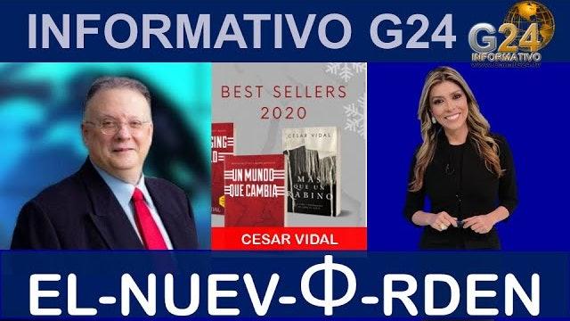 Sandra Valencia entrevista a César Vidal: Dos agendas un nuevo orden mundial