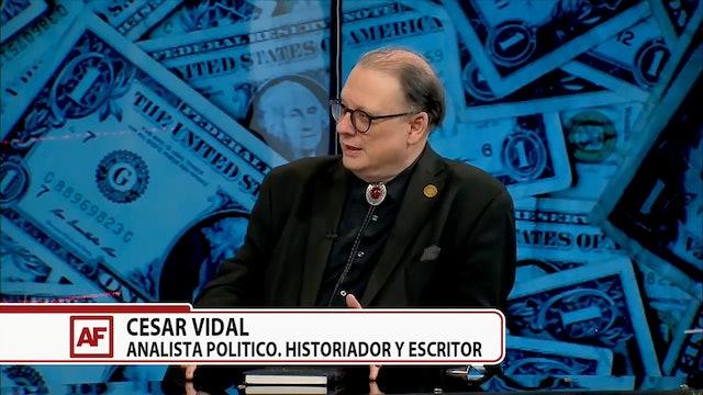 Predicciones de la economía de EEUU con el analista Cesar Vidal - 03/04/21
