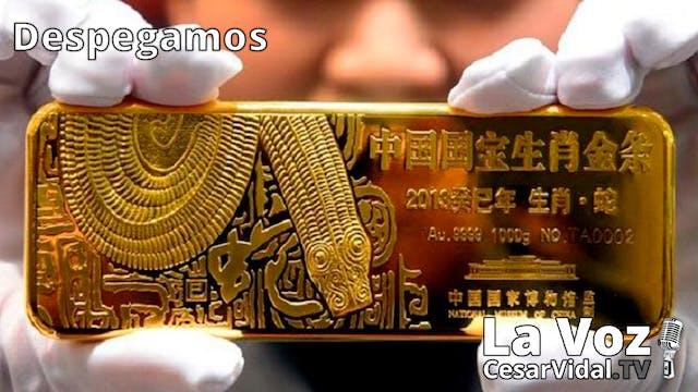 El oro fluye hacia China y las burbuj...