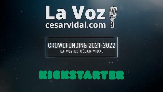 Crowdfunding de La Voz de César Vidal - 2021 / 2022