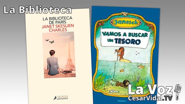"""""""La biblioteca de París"""" y """"Vamos a buscar un tesoro"""" - 08/04/21"""