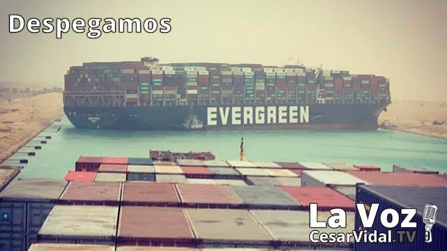 Colapso del Canal de Suez y Sánchez p...