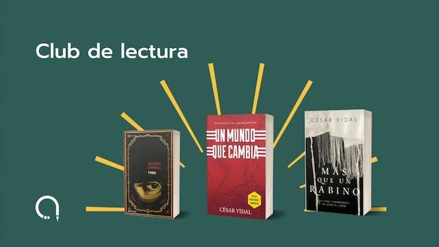 Club de Lectura con Cesar Vidal:  Más...