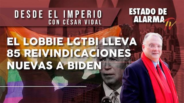 El LOBBIE LGTBI lleva 85 REIVINDICACIONES NUEVAS a BIDEN - 26/11/20