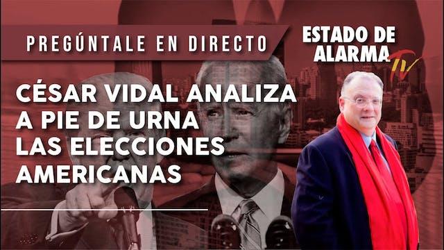CÉSAR VIDAL y CRISTINA SEGUÍ ANALIZAN...