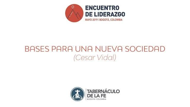 Conferencia de César Vidal: Bases para una nueva sociedad - 26/05/2019