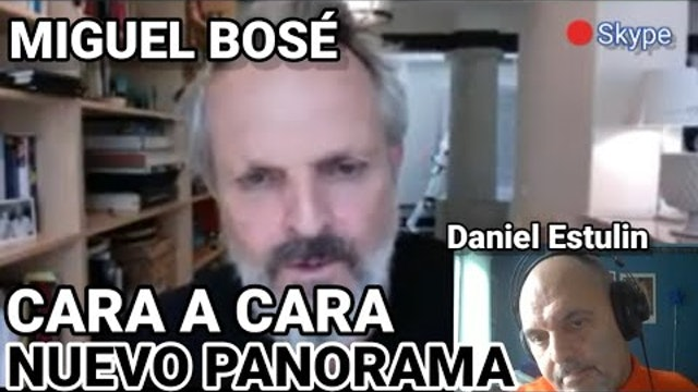 Entrevista censurada de Daniel Estulin a Miguel Bosé