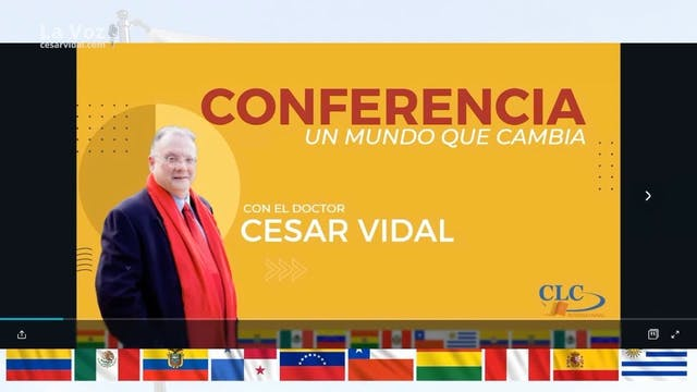 """Conferencia """"Un mundo que cambia"""" - 2..."""
