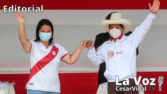 Perú elige presidente - 04/06/21