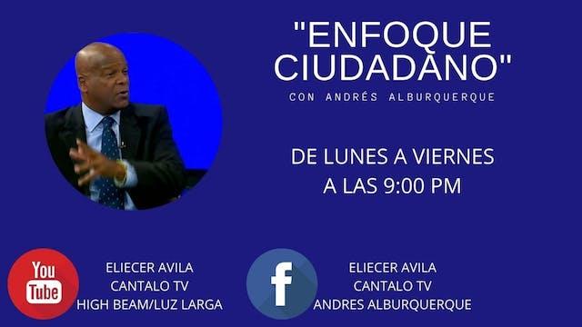 Andrés Alburquerque entrevista a Césa...