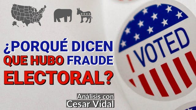 ¿Porqué dicen que hubo fraude elector...