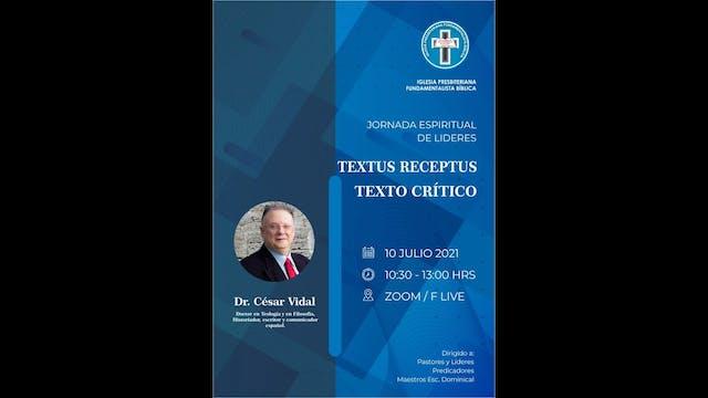 Conferencia de César Vidal: TEXTO MAY...