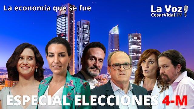 Especial elecciones 4-M - 03/05/21