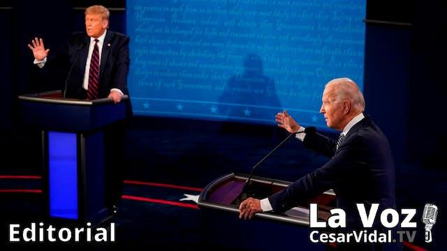El primer debate presidencial - 30/09/20