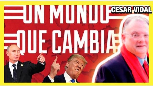 Colin Rivas entrevista a César Vidal: Un mundo que cambia - 31/12/20