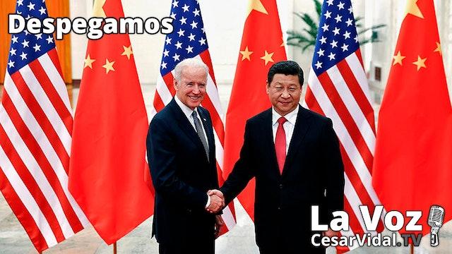 EEUU pone rumbo a la guerra mundial C: Clima, Covid y China - 25/06/21
