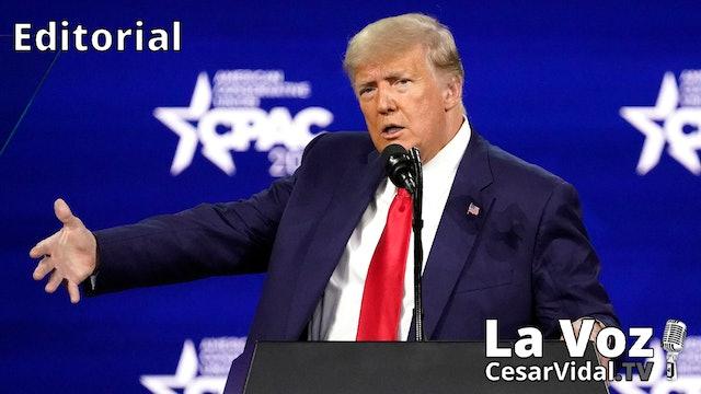 Donald Trump electriza a los conservadores - 01/03/21