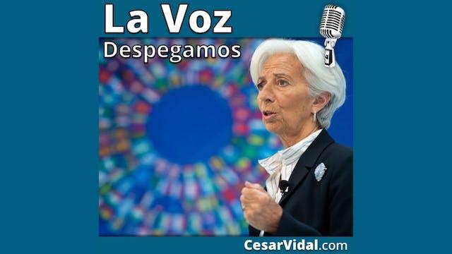 Lagarde se convierte en la sacerdotis...