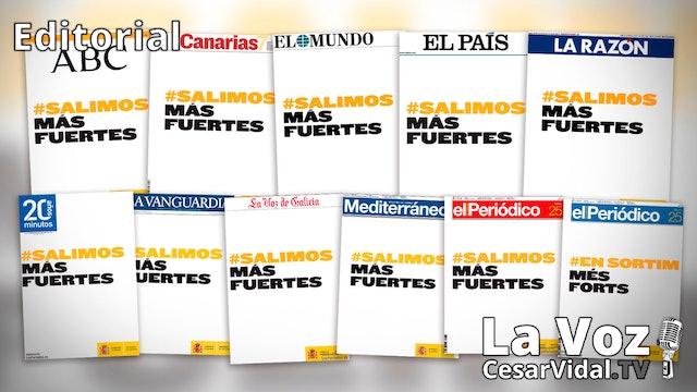 La falta de integridad hunde a los medios españoles - 17/09/20