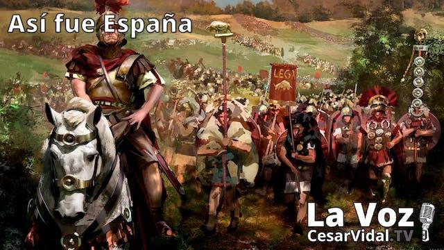 Las legiones llegan a España y Anibal...