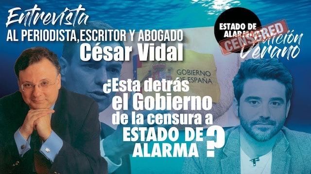 Javier Negre entrevista a César Vidal - 19/08/20