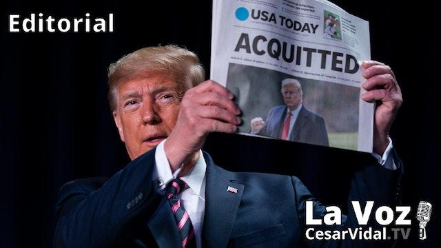 El Senado absuelve a Donald Trump - 15/02/21