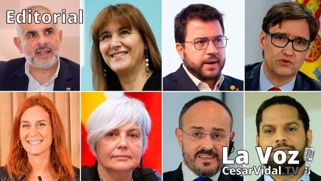 Los candidatos a la presidencia de Ca...