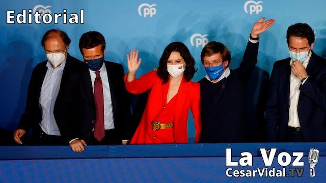 La libertad triunfa en Madrid - 05/05/21