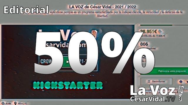 El crowdfunding de La Voz cruza el ecuador - 03/06/21