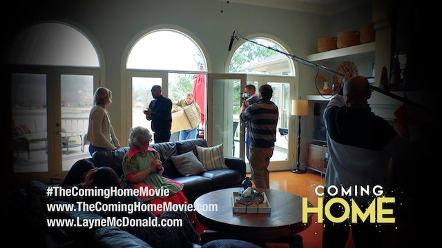 Coming Home - Behind the Scenes - Episode 17 - Living Room Location Shoot