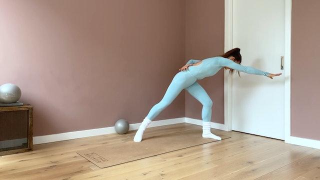 45 minute - Full body plus Cardio Flow series