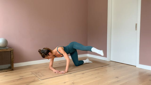 15 minute - Core and Lower body focus...