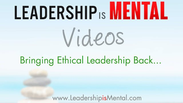 Bringing Ethical Leadership Back