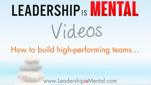 Leadership & How to Build High-Perfor...
