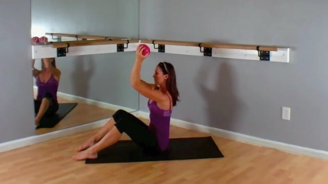 Weighted Shoulders and Core on the Mat