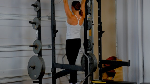 Pull Up Strong Series I: Pull Up Bar