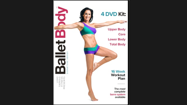 Ballet Body Signature Bundle: Volumes 1-4 + Guide