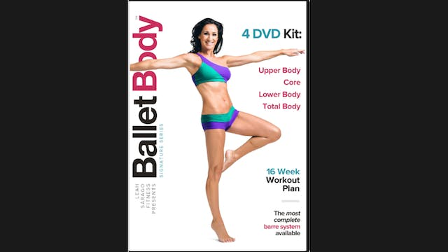 Ballet Body Signature Bundle: Volumes 1-4 + Guide